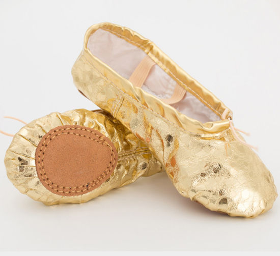 China Online Shopping Soft Ballet Satin Shoes for Beauty