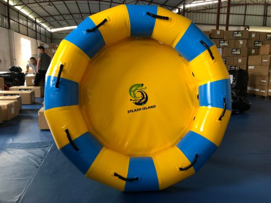 "76"" Inflatable Round Raft Fiberglass Water Slides Tubes for Amusement Water Park Equipment pictures & photos"