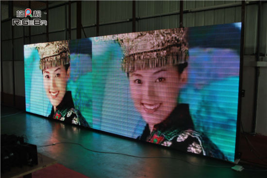 Rigeba P10 Outdoor 3 in 1 LED Display Screen Full Color Display Advertising Display for Party Events