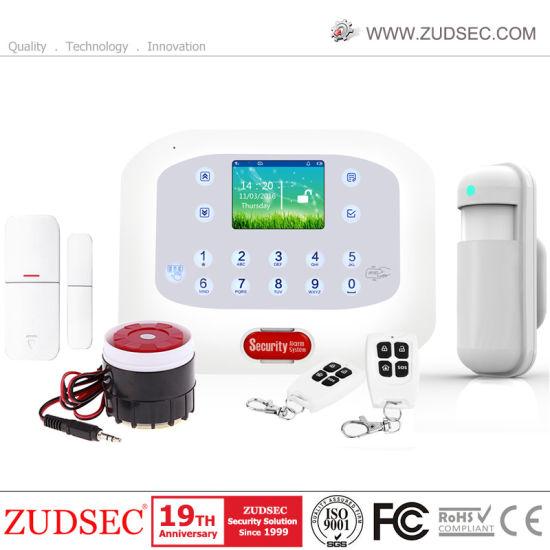 Dual Network PSTN GSM Home Burglar Alarm