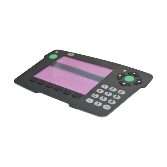 Panel Name Plate Graphic Overlay Switch Membrane Keypad