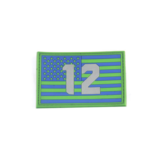 China Factory Custom Military Rubber PVC Patch for Gift