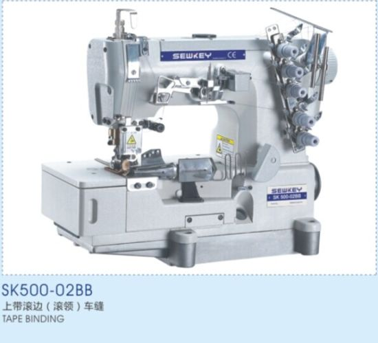 Sk500-02bb High Speed Tape Binding Interlock Sewing Machine
