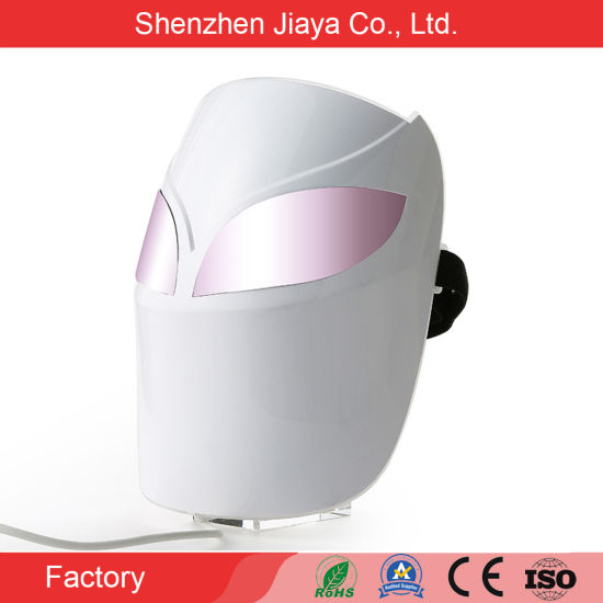 2021 PDT Machine 7 Color Lights LED Photon Anti-Aging Facial Mask Skin Rejuvenation Therapy LED Face Beauty Mask