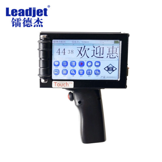 Chinese Handheld Inkjet Printer Manufacturer Machine with Good Price