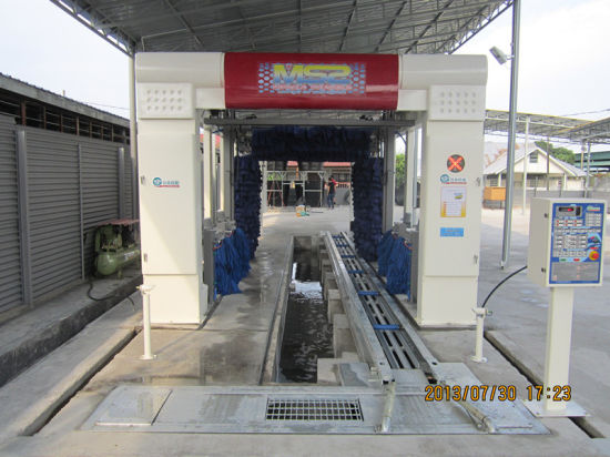 High Technology and Stainless Automatic Tunnel Car Washer. pictures & photos