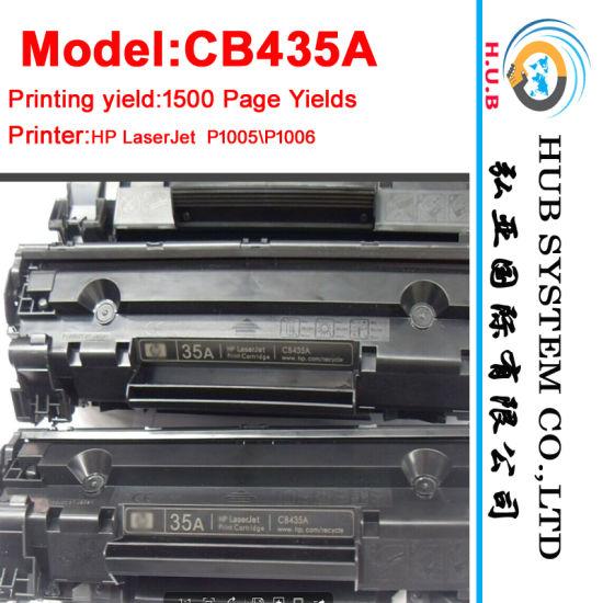 Black Printer Toner Cartridge for HP CB435A (35A) / HP CB436A (36A)