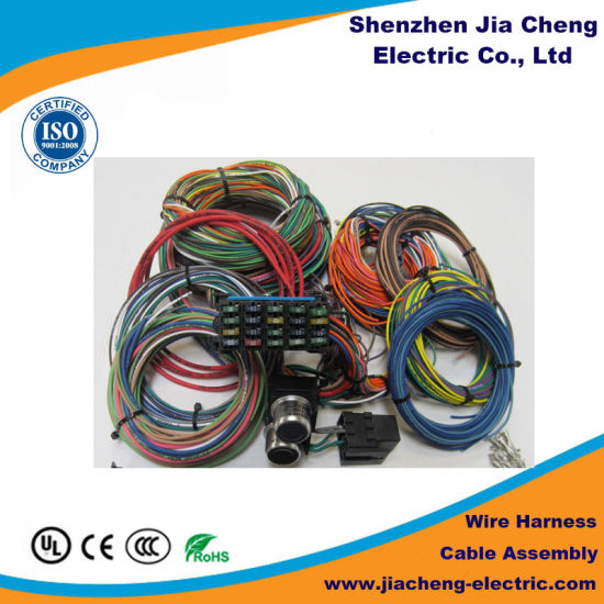 China Custom Automotive Wire Harness Manufacturer Auto ... on