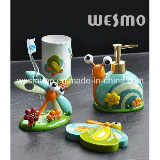 Kids Polyresin Bathroom Set (WBP0880A) pictures & photos