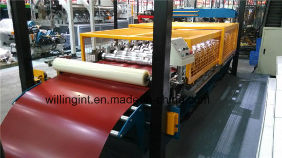 Film Covering Ce Standard Roofing Wall Roll Forming Machine
