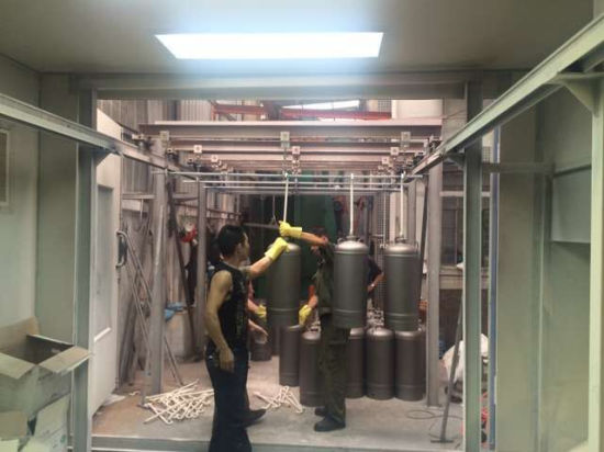 Shot Blasting+Painting Line Spray Booth pictures & photos