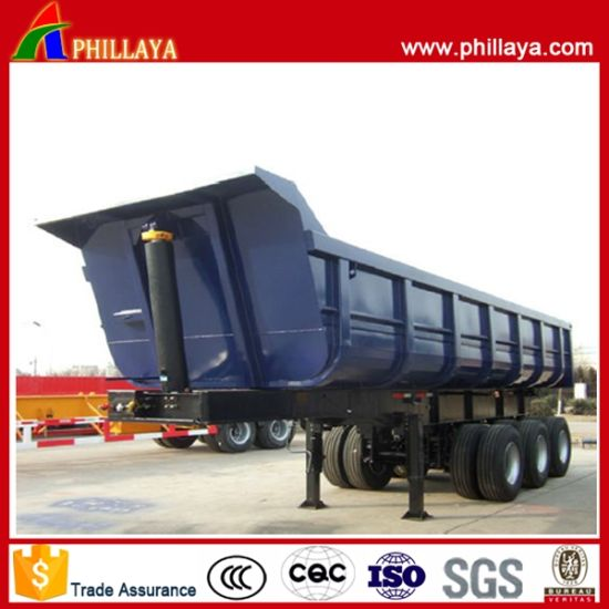 3 4 Axle Heavy Duty Dump Trailer pictures & photos