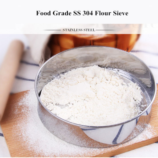 40, 50, 60 Mesh Flour Grain Test Sieve Sifter pictures & photos