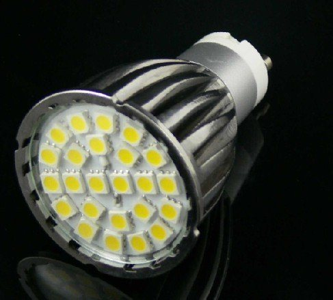 5050 24PCS 220V White LED Spotlight pictures & photos