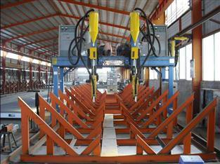 H-Beam&Rim Straightening Machine Production Line