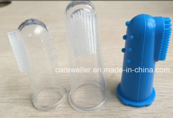 Pet Silicone Finger Toothbrush for Clear Use /Dog Toothbrush /Pet Toothbrush pictures & photos