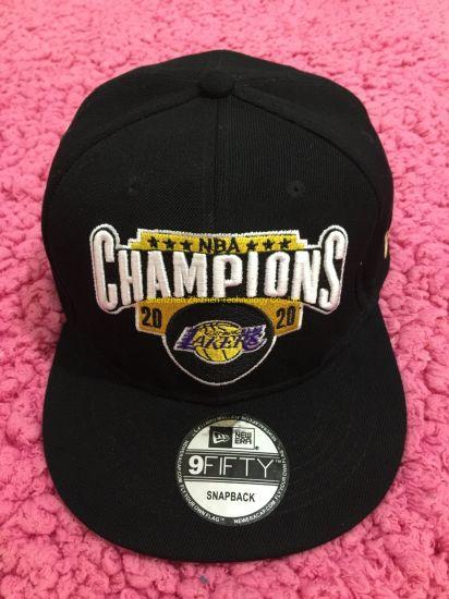 2020 3D Embroidery Caps Championship Caps NBA Cap Lakers Caps Latest Baseball Cap Finals Caps Embroidery Caps