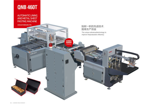 Book Cover Making Machine for Inner Paper with Steel Plate