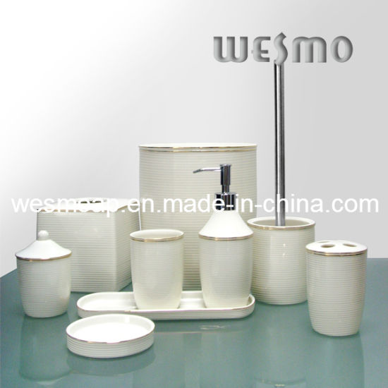 Top-Grade Porcelain Bathroom Set (WBC0575A)