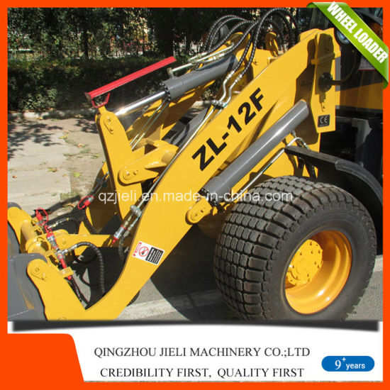 Zl12 Rated Loading 1.2t Mini/Small Wheel Loader with Ce pictures & photos