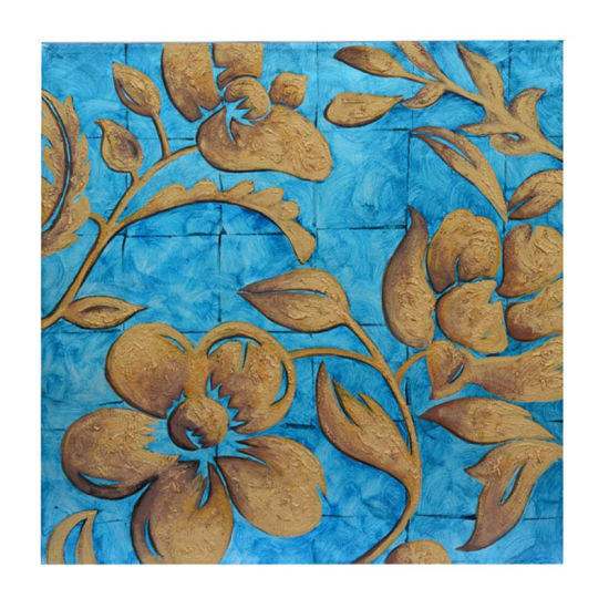 Handpainted Abstract Flower Painting For Living Room With Frames Stretched Home Decoration Lh