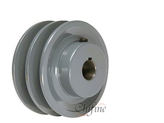 OEM China Manufacturer Double V-Groove Pulley pictures & photos