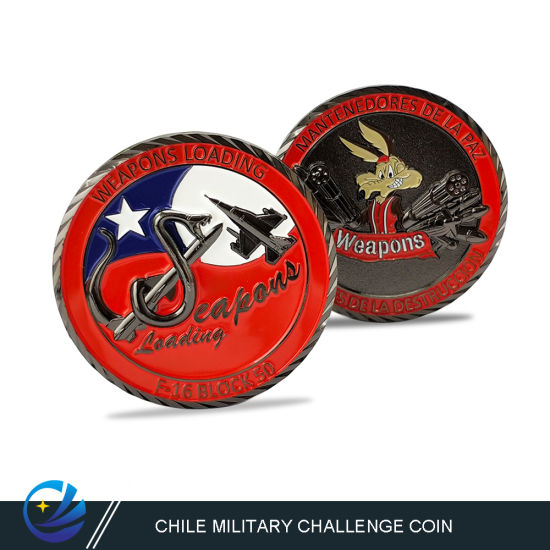 China Wholeale Custom Challenge Coin with Metal Art Craft 3D Logo