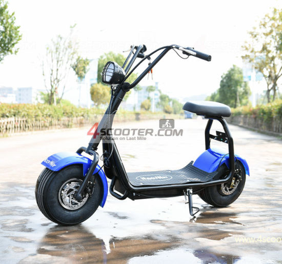 Wholesale Best Buying 2021 Best 1500W 60V Fat Tire City Coco Factory Electrical Citycoco Motorbike 2 Wheel Ault Battery Moto Electric Vehicle Mobility Scooter