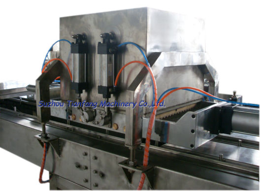 Semi-Automatic Chocolate Depositing Machine with CE Certificate pictures & photos