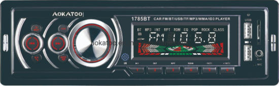 Deckless Car FM Player with Bt USB TF High Power MP3 WMA ID3 Player