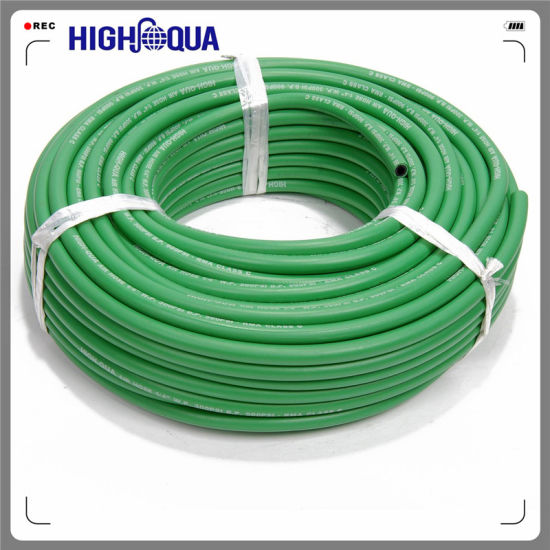 High Pressure Flexible Fiber Braided Hose for Industrial Transportation with Customizable