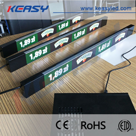 Small Pixel Pitch P1.875 Indoor Shelf LED Display for Retail Shop pictures & photos