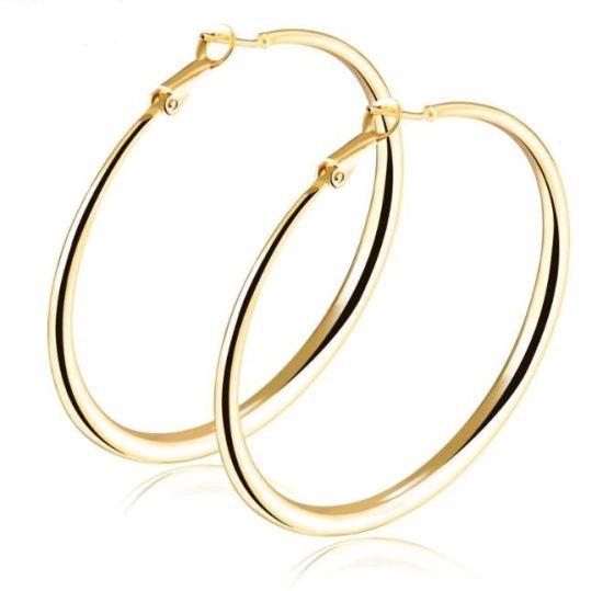 Hot Hoop Earrings Smooth