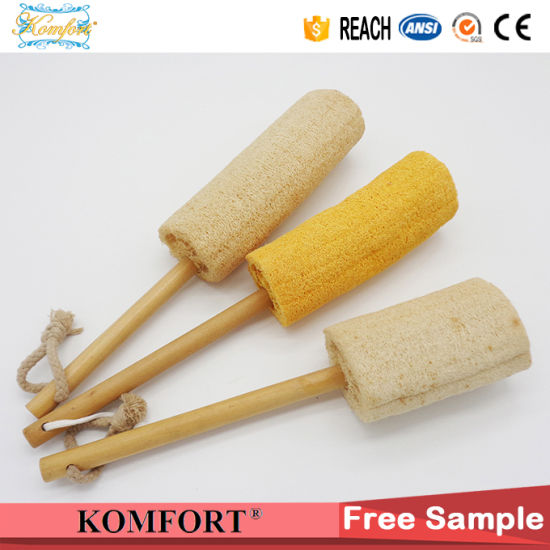 Long Handle Bath Body Brush, Bath Sponge Loofah pictures & photos