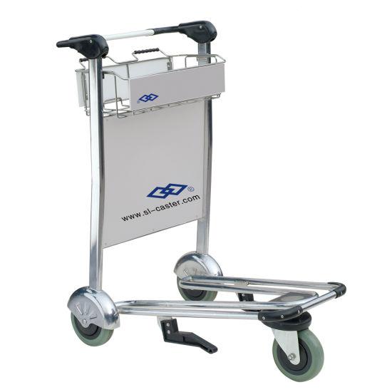 Stainless Steel Airport Trolley Handcart