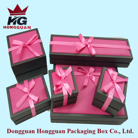 The Wooden Gift Box for Jewelry