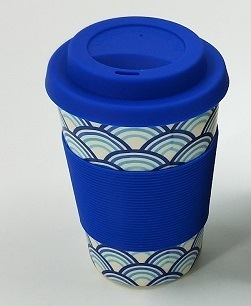 Printed Bamboo Fiber Coffee Cup/ Mug with Eco-Friendly (YK-BC4204) pictures & photos