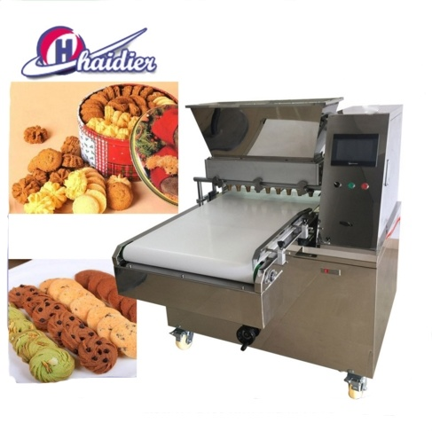 Bakery Equipment PLC Wire Cut Cookies Depositor Biscuits Making Machine