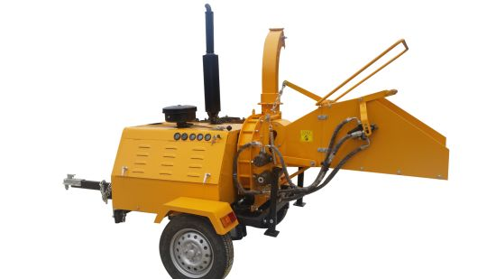 Wood Chipper with 40HP Diesel Engine Power