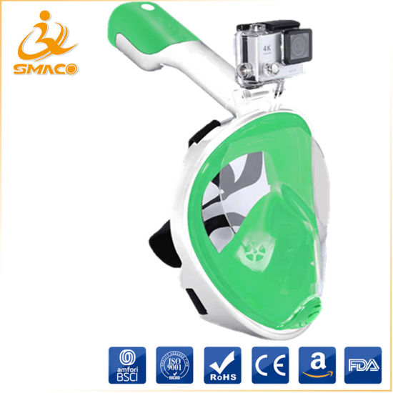 Full Face Snorkel Mask Diving Ce Hot Selling on Amazon
