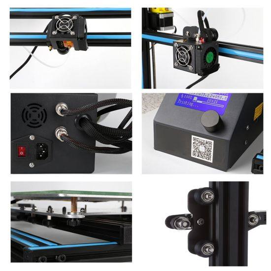 Largest Printing Size FDM Desktop DIY 3D Printer With Build Size 500X500X500mm pictures & photos