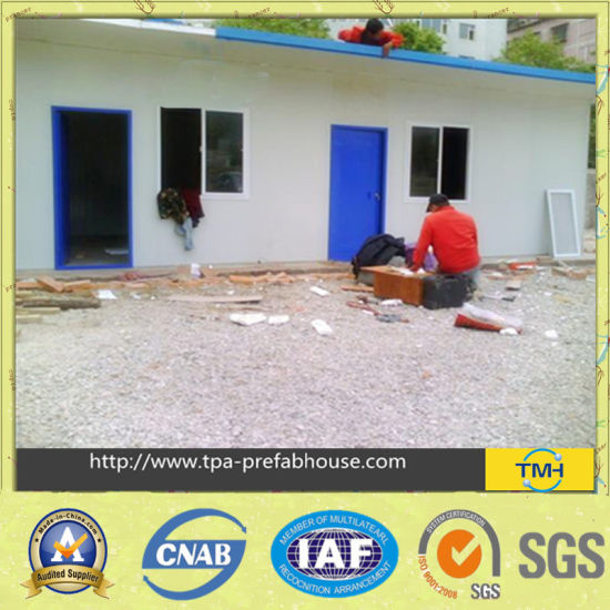 Prefabricated House with Portable Car Garage pictures & photos