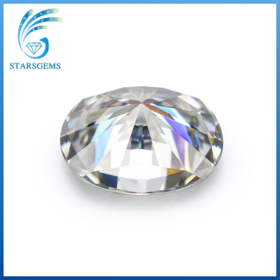 Oval Brilliant Cut 9X7mm 1.5cts Ij Color Moissanite Diamond pictures & photos