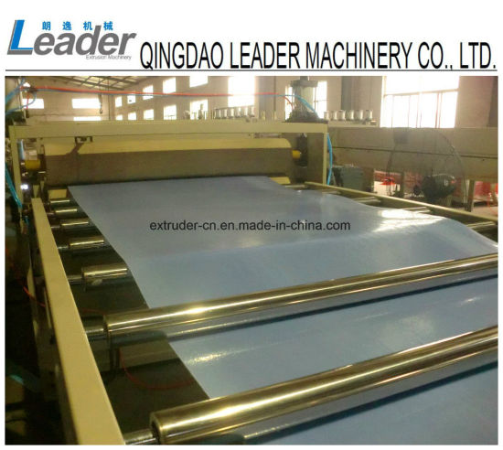 Single Layer PP Plastic Chemical Foam Sheet Production Line pictures & photos