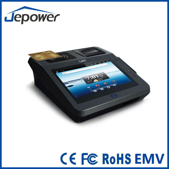 Jepower Jp762A Contactless POS Terminal Support Msr, IC Card, Contactless IC Card pictures & photos
