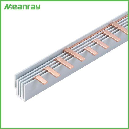4p MCB Copper Busbar C45 Type Busbar