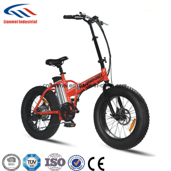 20inch Folding Fat Tire Electric Bike pictures & photos