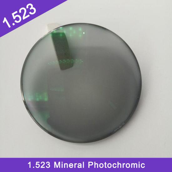 Wholesale Good Price Semi-Finished 1.523 Mineral Pgx Single Vision Optical Lens