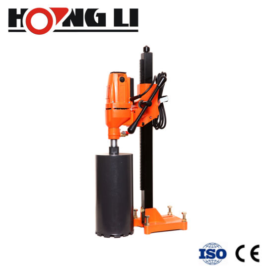 130mm 1500W Diamond Concrete Hollow Core Drill Wet and Dry Stand Fits Hilti Diamond Bit Drill