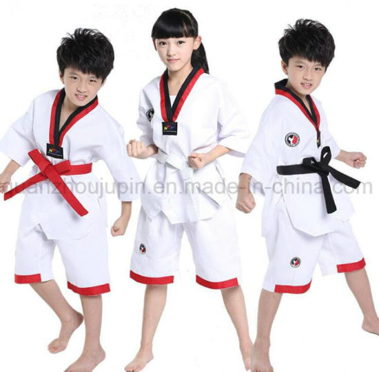 OEM Hot Sale Cotton Kids Children Taekwondo Uniform